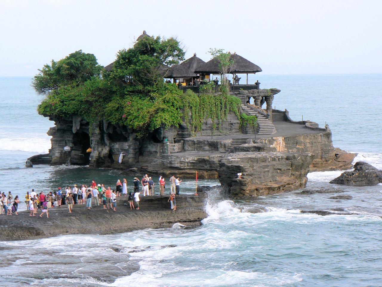 Bali - wyspa pełna świątyń.